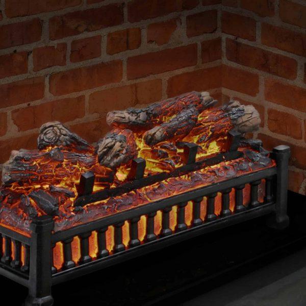 Pleasant Hearth Fireplace Electric Log Insert Unit 1