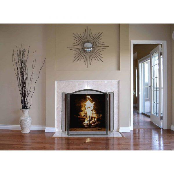 Pleasant Hearth Fortna Fireplace Screen, FA990SA 2