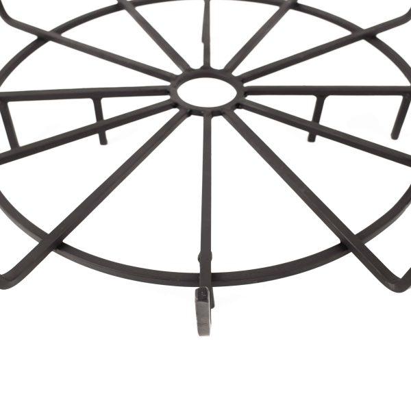 "Pleasant Hearth OFP32WG 32"" Wagon Wheel Steel Wood Grate 2"