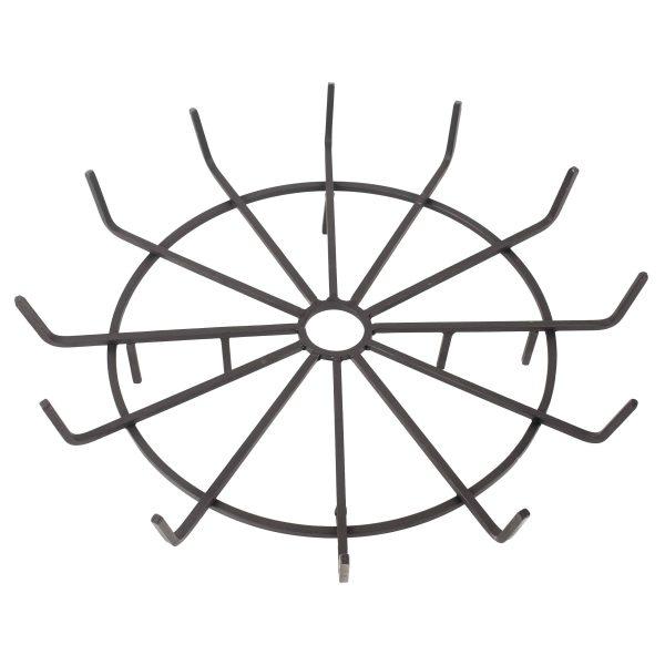 "Pleasant Hearth OFP32WG 32"" Wagon Wheel Steel Wood Grate"