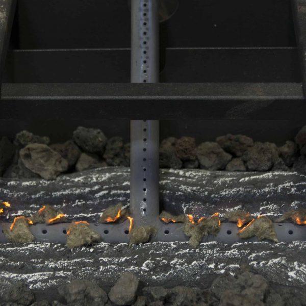 "Pleasant Hearth VFL-VO24DR 24"" Valley Oak Series Vent Free Gas Log Set 33,000 BTU's 3"
