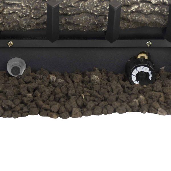 "Pleasant Hearth VFL2-SO18DT 18"" Southern Oak Vent Free Gas Log Set 30,000 BTU's 3"