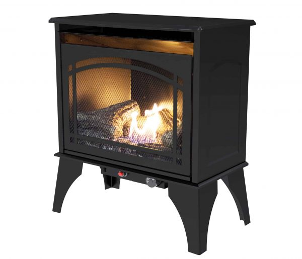 000 BTU 23.5 in. Compact Vent Free Gas Stove