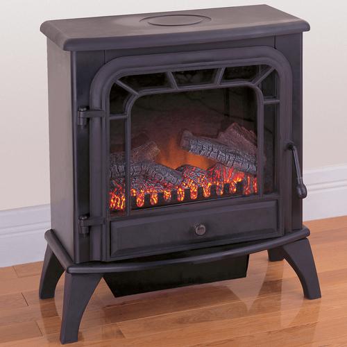 ProCom Electric Stove Fireplace - Black Finish - Model V50HYLD
