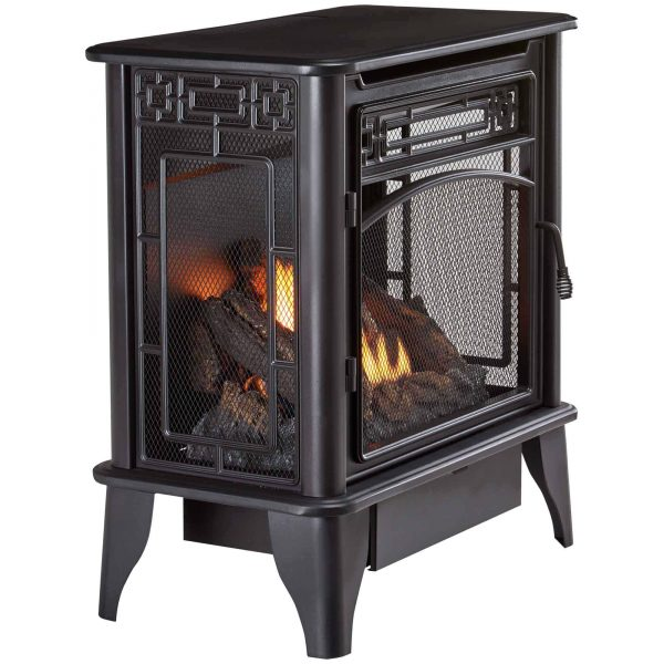 ProCom Gas Stove 3-Sided Dual Fuel Black ? 23,000 BTU PCNSD25TA 1
