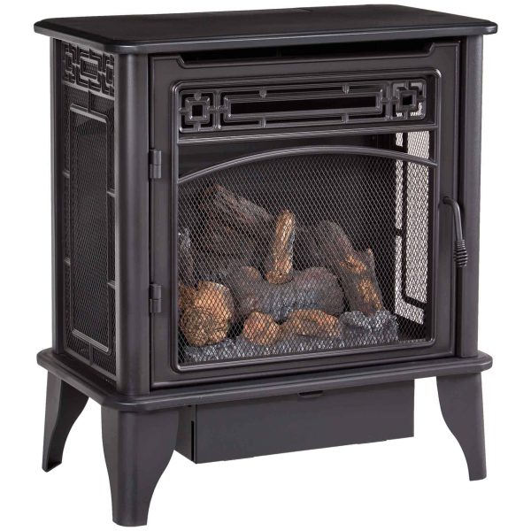 ProCom Gas Stove 3-Sided Dual Fuel Black ? 23,000 BTU PCNSD25TA 2