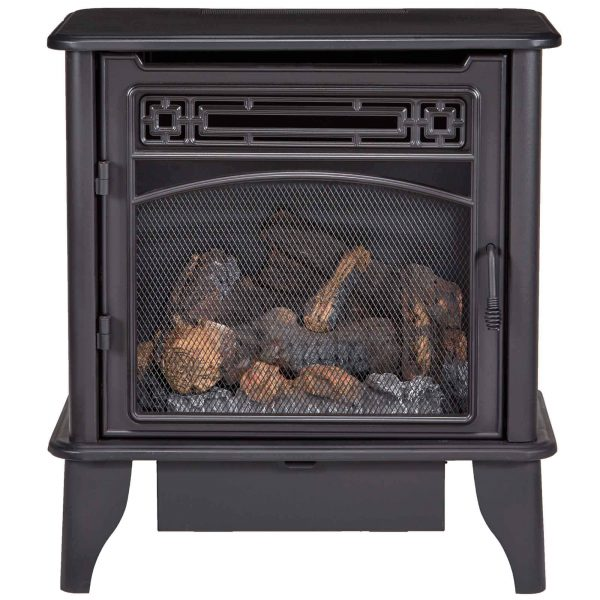 ProCom Gas Stove 3-Sided Dual Fuel Black ? 23,000 BTU PCNSD25TA 3