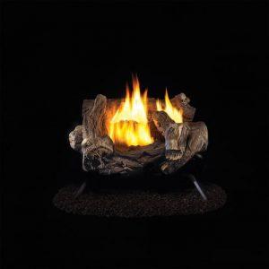 ProCom Ventless Propane Gas Log Set - 18in.