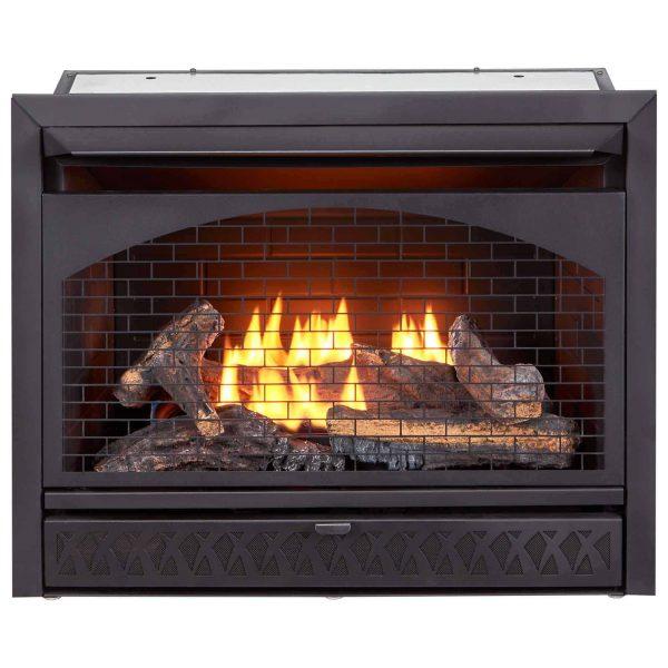 Procom Vent-Free Dual Fuel Fireplace Insert, Model FBNSD28T 1