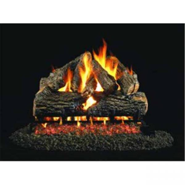 Products 24 in. Charred Oak Stack Vented Log Set