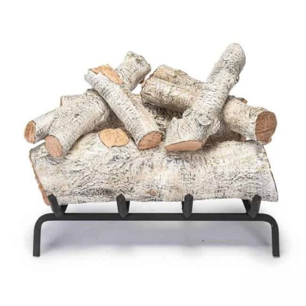 Products 30 in. Mountian Birch Vented Log Set