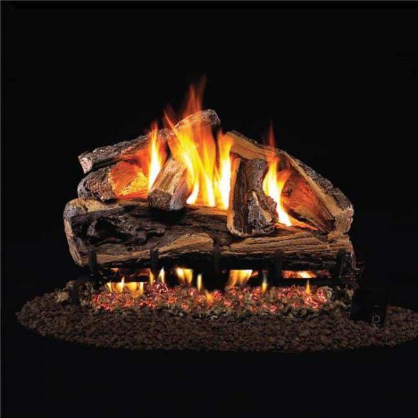 Products 30 in. Rugged Split Oak Vented Log Set