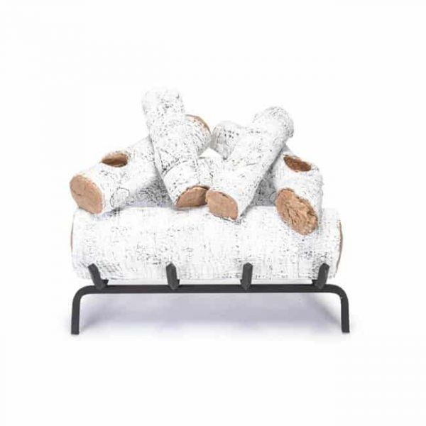 Products 30 in. White Birch Vented Log Set