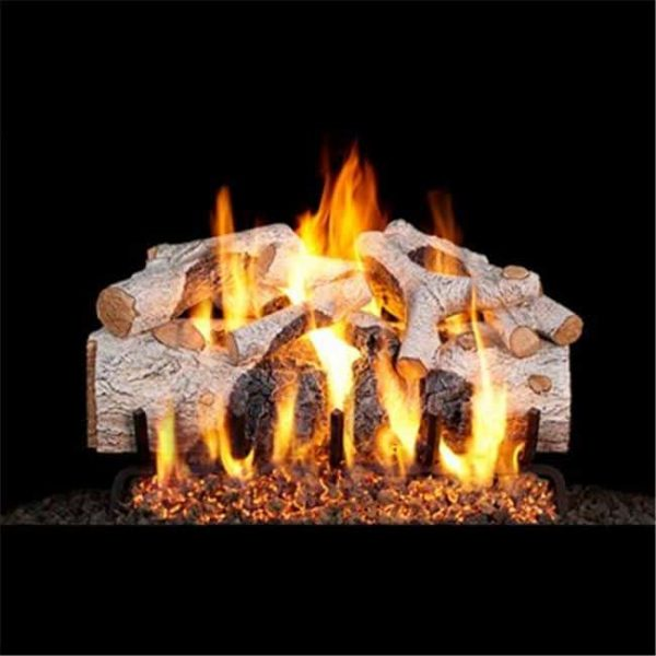 Products CHMBW-18-20 18 & 20 in. Charred Mountain Birch Vented Log Set