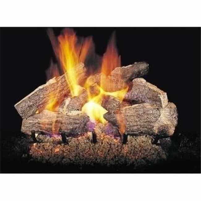 Products Chrrso 18 20 18 20 In Charred Rugged Split Oak Vented Log Set Fireplacess Com