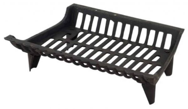 Products Corp 18' Blk Cast Iron Grate 15418 Fireplace Grates & Andirons
