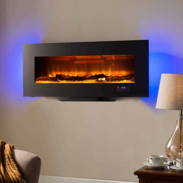 "Prokonian 49"" Wall Mounted Electric Fireplace"