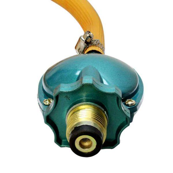 "Propane Regulator Low Pressure 71"" Hose BBQ Gas Burner Stove Wok Fryer 20PSI LPG 1"