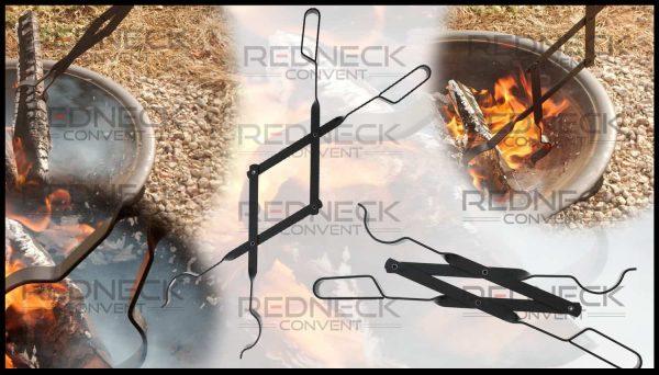 "RC | Log Tongs Fireplace Poker Wood Tongs Fireplace Tongs Heavy Duty Grabber 26"" 1"