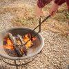 "RC | Log Tongs Fireplace Poker Wood Tongs Fireplace Tongs Heavy Duty Grabber 26"" 9"