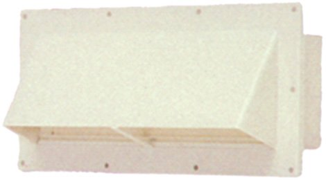 RV Mobile Home Parts Range hood Stove Vent With Damper Ventline Off White.