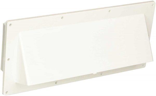 RV Mobile Home Parts Range hood Stove Vent With Damper Ventline White.