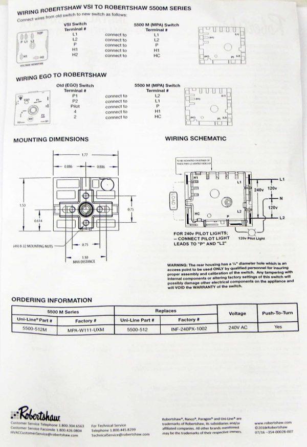 Range Stove Burner Infinite Switch for GE WB21X5243 PS235991 AP2023620 4