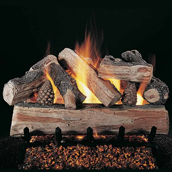 Rasmussen CrossFire See-Through Gas Logs