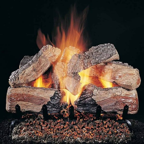 Rasmussen Evening CrossFire See-Through Gas Logs