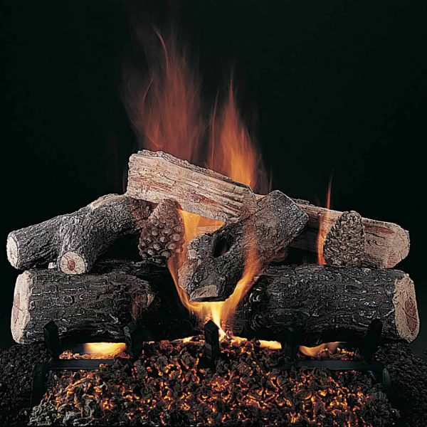 "Rasmussen Evening Lone Star Logs w/ 24"" (CXF) Burner"