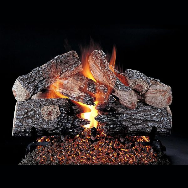 Rasmussen Evening Prestige See-Through Gas Logs