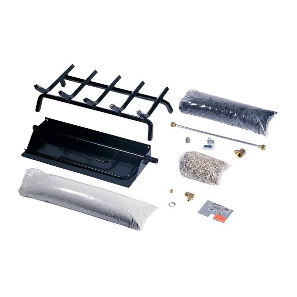Rasmussen Flaming Ember XTRA Burner and Grate Kit