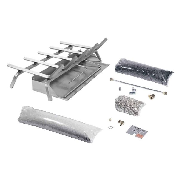 Rasmussen Flaming Ember XTRA Stainless Steel Burner and Grate Kit