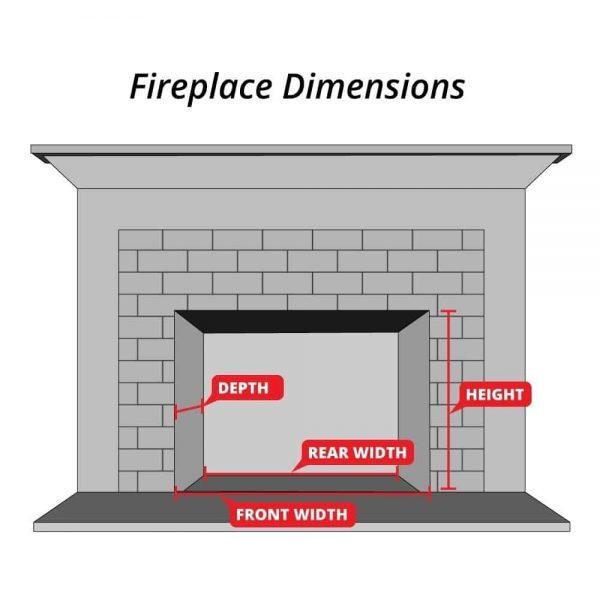 """Rasmussen Pine Cones Fireplace Set w/ 18"""" (CS) Burner and Pilot Kit, NG, 18"""" 2"""