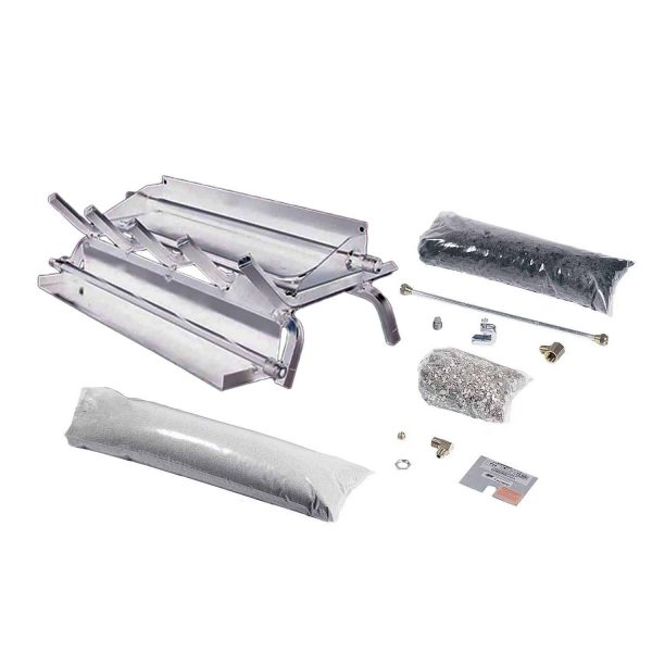 Rasmussen Stainless Steel Evening Series Multi-Burner and Grate Kit