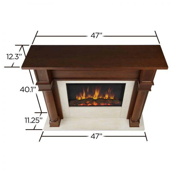 Real Flame Berkeley Electric Fireplace 4