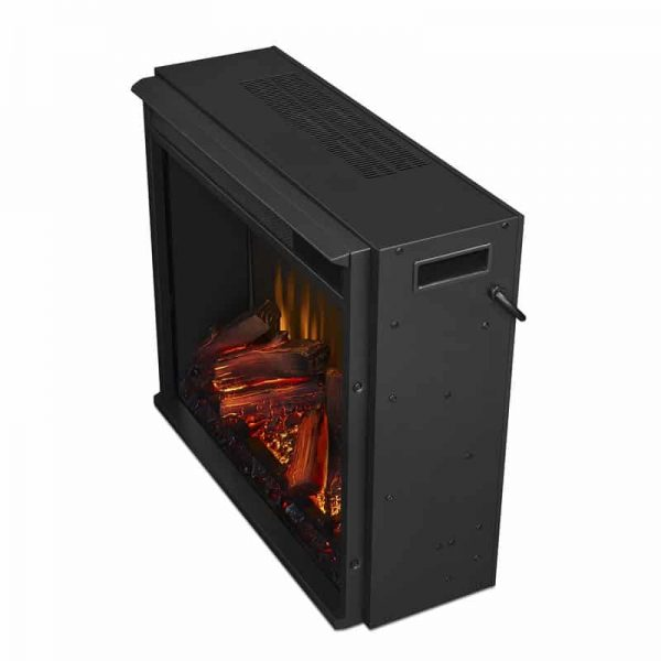 Real Flame VividFlame Electric Firebox in Black 1