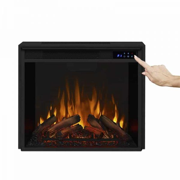 Real Flame VividFlame Electric Firebox in Black 11