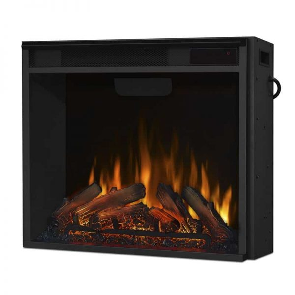 Real Flame VividFlame Electric Firebox in Black 13