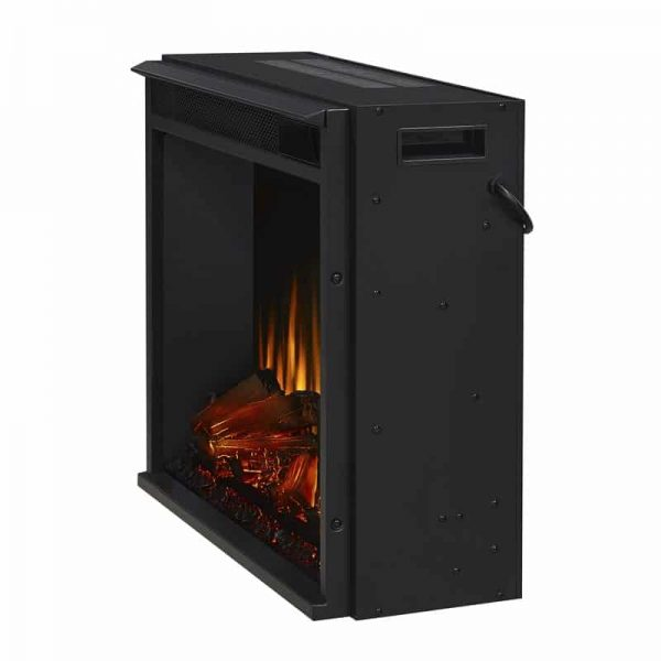 Real Flame VividFlame Electric Firebox in Black 16