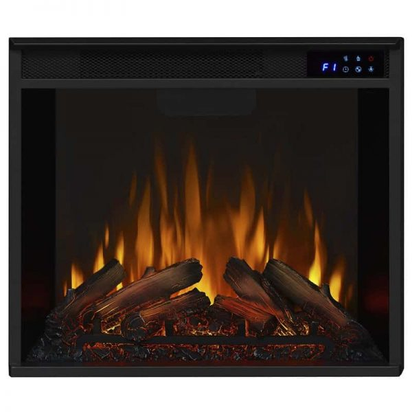 Real Flame VividFlame Electric Firebox in Black 2