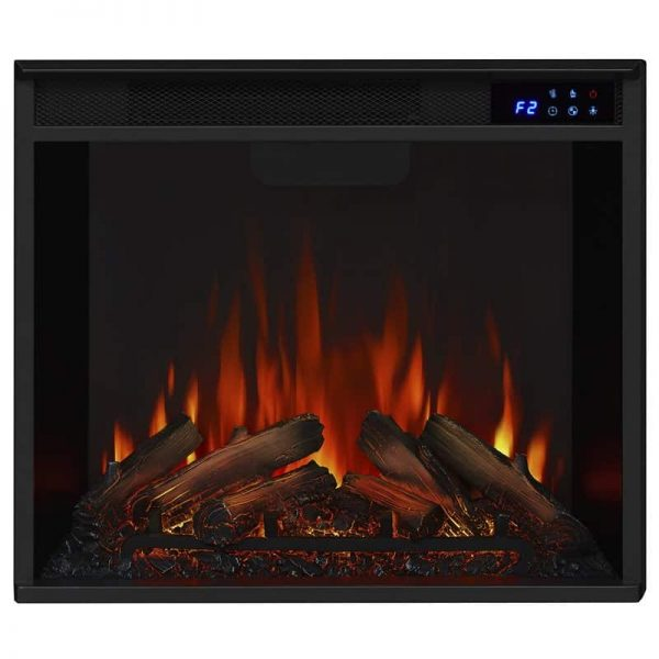 Real Flame VividFlame Electric Firebox in Black 3