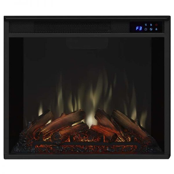 Real Flame VividFlame Electric Firebox in Black 4
