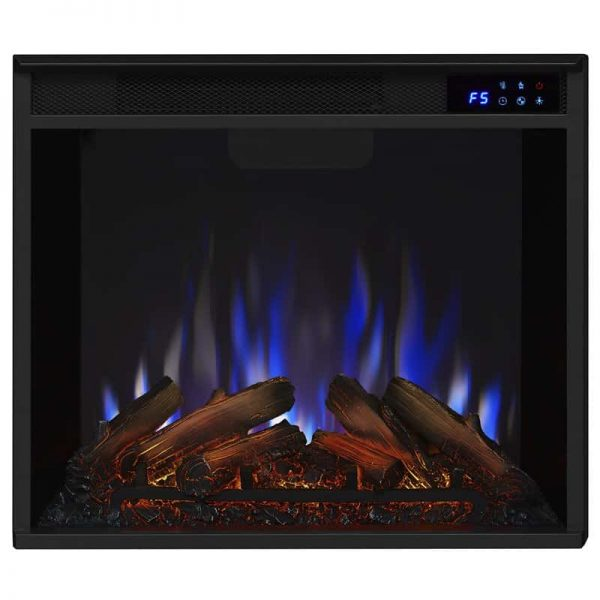 Real Flame VividFlame Electric Firebox in Black 6