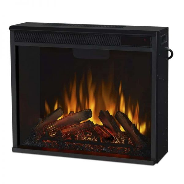 Real Flame VividFlame Electric Firebox in Black