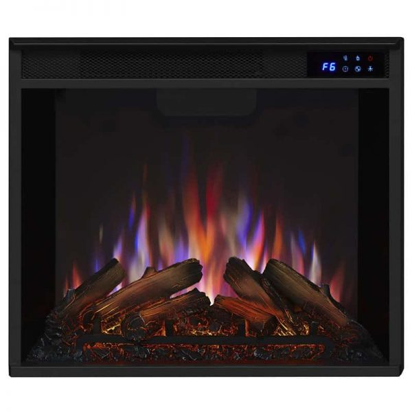 Real Flame VividFlame Electric Firebox in Black 7