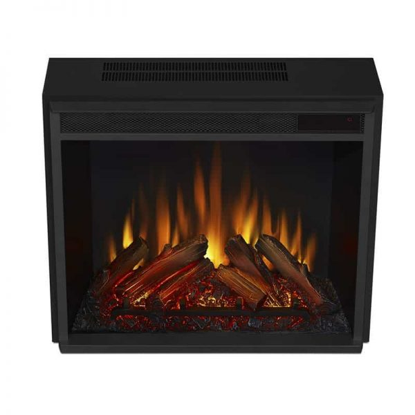 Real Flame VividFlame Electric Firebox in Black 9
