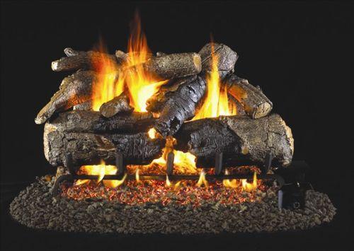 Real Fyre Charred American Oak Vented Gas Logs
