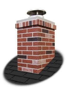 Rectangle Top & Trim Kit For Chimney Surround
