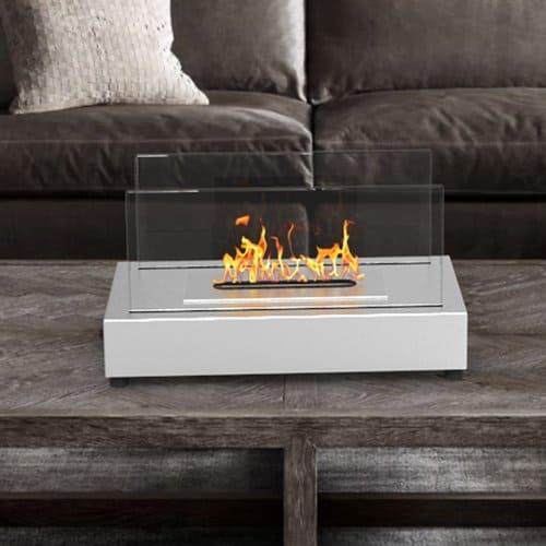 Regal Flame Avon Portable Bio Ethanol Tabletop Fireplace 2